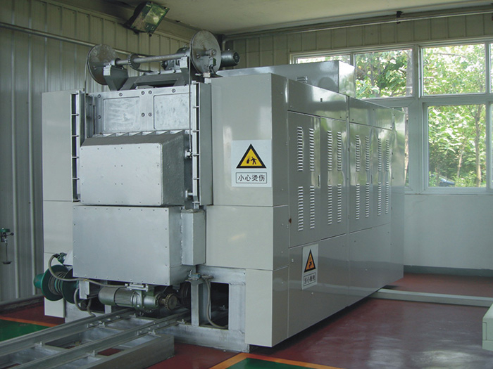 1300℃ Electric Resistance Heating Furnace for Rapid Forging Steel Tube (State Key Laboratory of Tianjin Pipe Group Corporation)